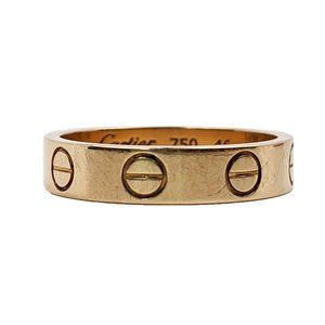 Cartier Gold Love Wedding Band Ring 46 / 3.75